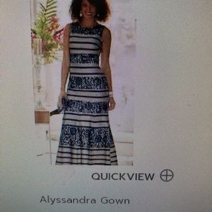Gown. Never been worn